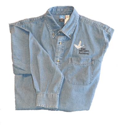Photo of denim shirt