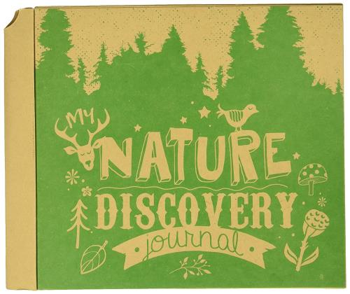 Photo of front of Nature Discovery Journal